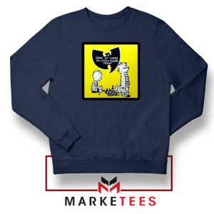 Wutang Cartoon Comic Strip Navy Blue Sweatshirt