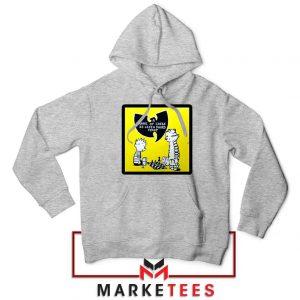 Wutang Cartoon Comic Strip Sport Grey Hoodie