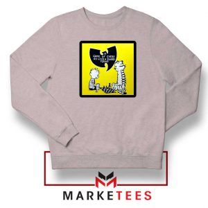 Wutang Cartoon Comic Strip Sport Grey Sweatshirt