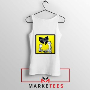 Wutang Cartoon Comic Strip Tank Top