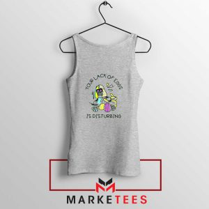 Your Lack Of Eggs Star Wars Sport Grey Tank Top
