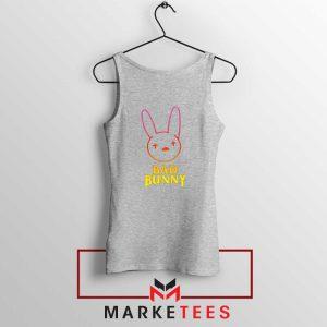 Bad Bunny Hip Hop Rabbit Sport Grey Tank Top
