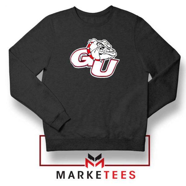 Gonzaga Basketball Program Black Sweatshirt