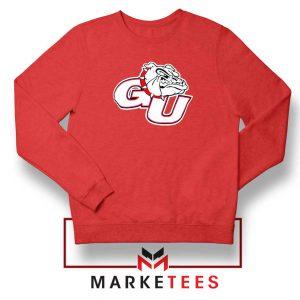 Gonzaga Basketball Program Red Sweatshirt