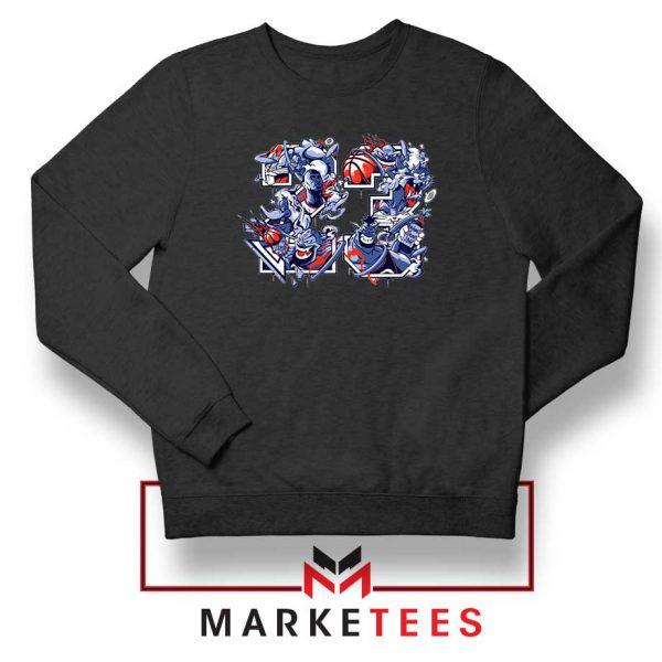 Jordan 23 Chicago Bulls Black Sweatshirt