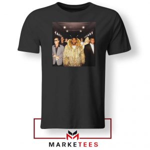 Magic Johnsons Legends Club NBA Black Tshirt