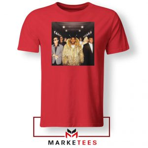 Magic Johnsons Legends Club NBA Red Tshirt