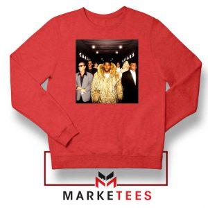 Magic Johnsons Legends Club Red Sweatshirt