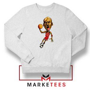 Michael Jordan Caricature NBA Sweatshirt