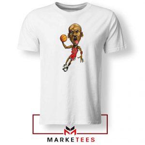 Michael Jordan Caricature NBA Tshirt