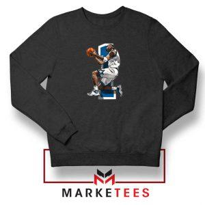 Penny Hardaway Basketball Black Sweatshirt