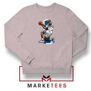 Penny Hardaway Basketball Grey Sweatshirt