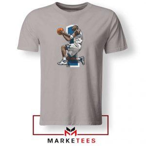 Penny Hardaway Vintage Basketball Grey Tshirt