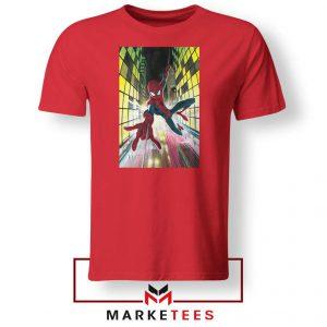 Spider Man Friendly Neighbor Red Tshirt