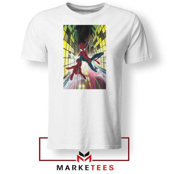 Spider Man Friendly Neighbor White Tshirt