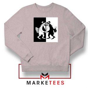 Spy vs Spy Art Video Game Grey Sweatshirt