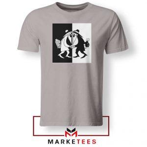 Spy vs Spy Art Video Game Grey Tshirt