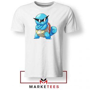 Squirtle Shades Pokemon Design Tshirt