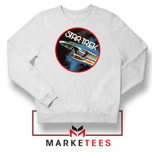 Star Trek Enterprise Series White Sweatshirt