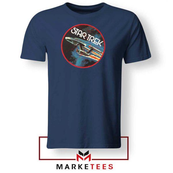 Star Trek Enterprise TV Series Navy Blue Tshirt