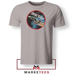 Star Trek Enterprise TV Series Sport GRey Tshirt