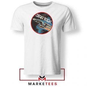Star Trek Enterprise TV Series White Tshirt