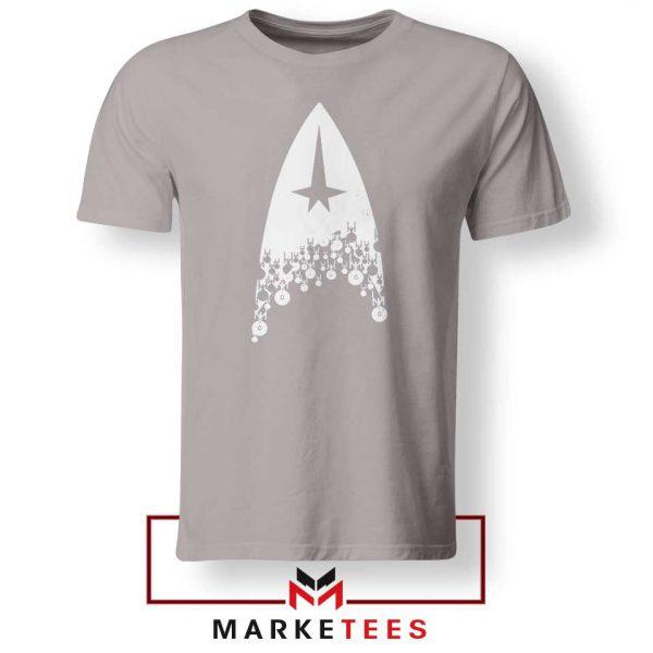 Star Trek Film Series Grey Tshirt