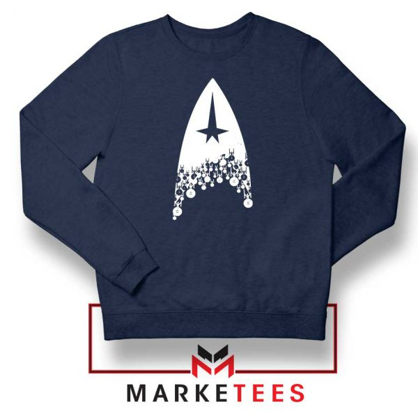 Star Trek Film Series Navy Blue Sweatshirt