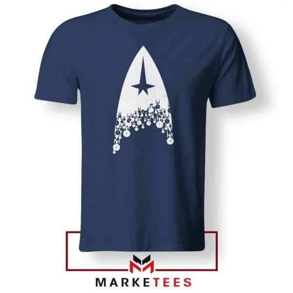Star Trek Film Series Navy Blue Tshirt