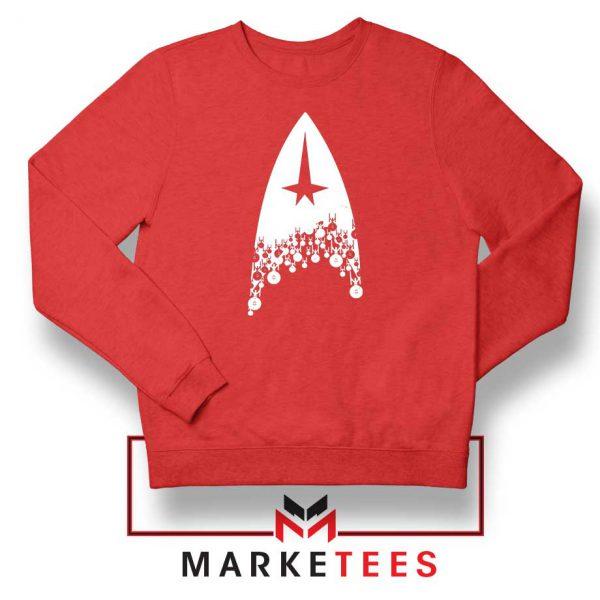 Star Trek Film Series Red Sweatshirt