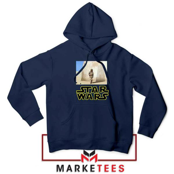 Star Wars Anakin Skywalker Navy Blue Hoodie