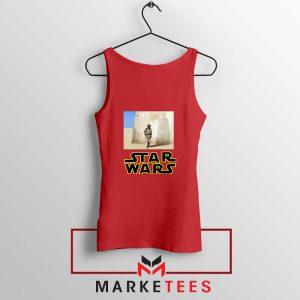 Star Wars Anakin Skywalker Red Tank Top
