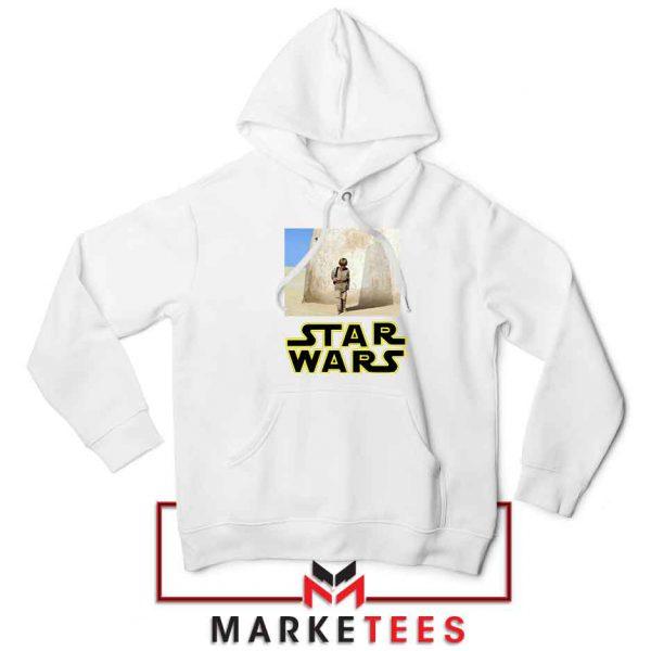 Star Wars Anakin Skywalker White Hoodie