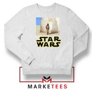 Star Wars Anakin Skywalker White Sweatshirt