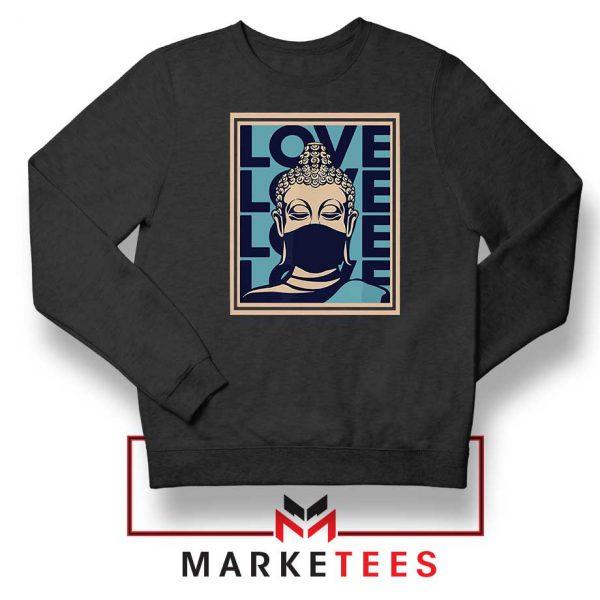 Stop Asian Hate Classic Black Sweatshirt