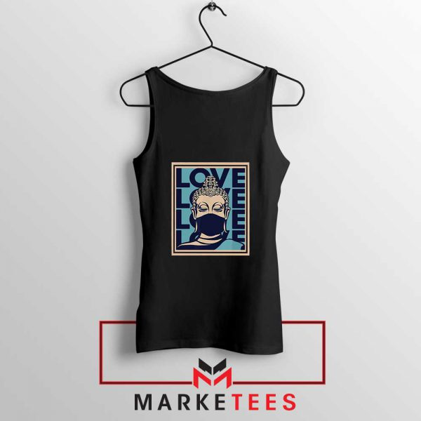 Stop Asian Hate Classic Black Tank Top
