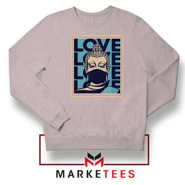 Stop Asian Hate Classic Grey Sweatshirt