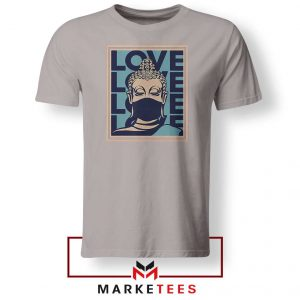 Stop Asian Hate Classic Grey Tshirt