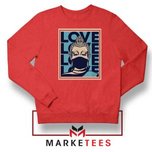 Stop Asian Hate Classic Red Sweatshirt