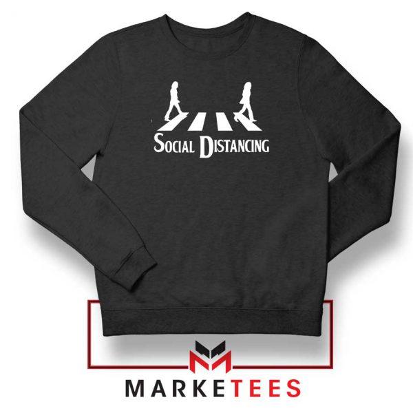 The Beatles Social Distancing Sweatshirt