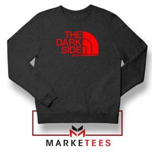 The Dark Side Starwars Black Sweatshirt