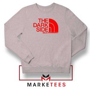 The Dark Side Starwars Grey Sweatshirt