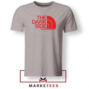 The Dark Side Starwars Grey Tshirt