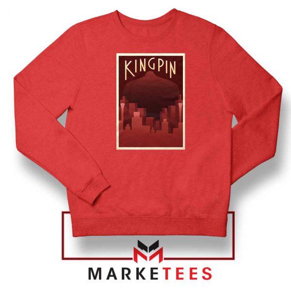 Wilson Fisk Kingping Red Sweatshirt