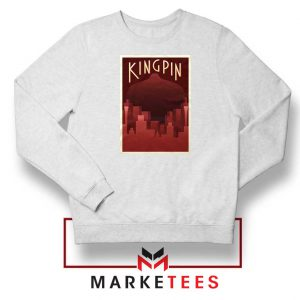 Wilson Fisk Kingping White Sweatshirt