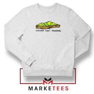 Avocado Toast Mountains Sweatshirt