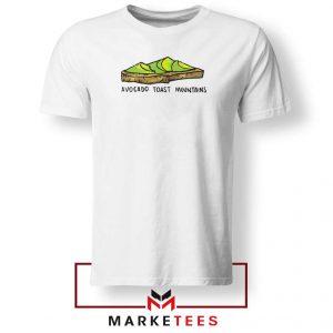 Avocado Toast Mountains Tshirt