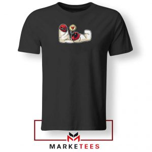 Spideypool Mutant Superheroes Black Tshirt