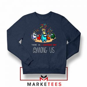 Among Us Gaming Birthday Navy Blue Sweatshirt