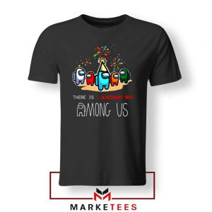 Among Us Gaming Birthday Tshirt
